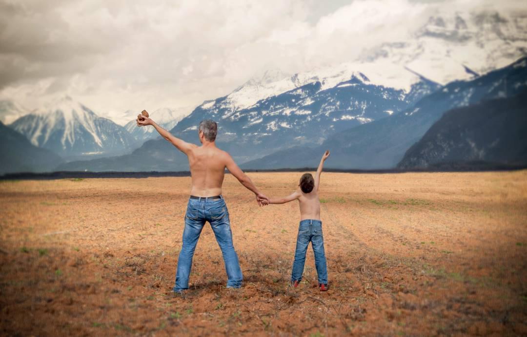 7 Dinge, die genetisch nur von Vätern an Kinder weitergegeben werden!