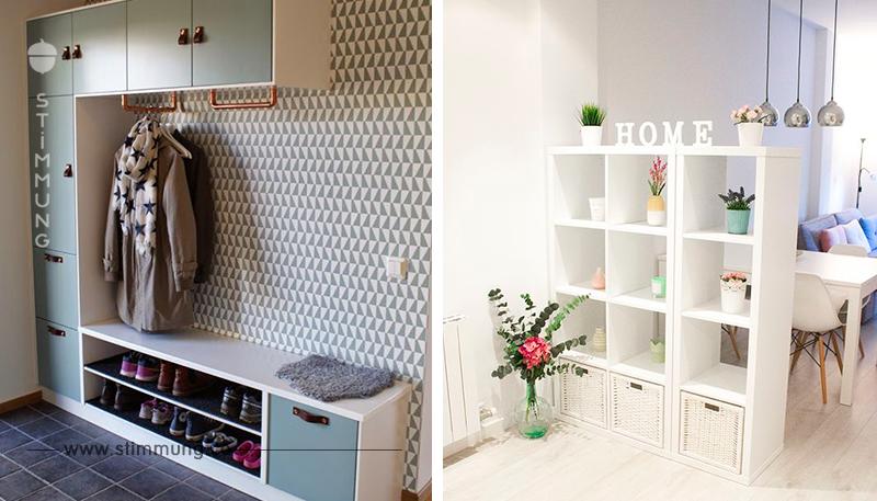 Jeder kennt 'Kallax'-Regale von IKEA! Hier sind 14 großartige DIY-Ideen mit Kallax-Regalen!