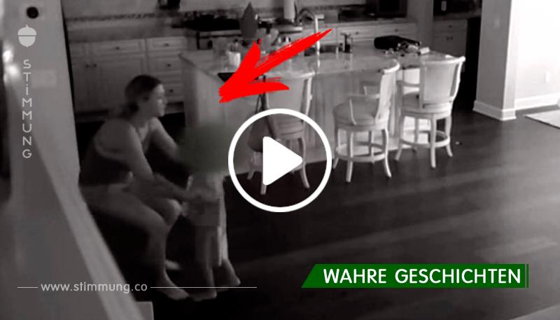 Das Kindermädchen hörte oben ein Geräusch. Das Video, das die versteckten Kameras aufgenommen hatten, überraschte den Vater des Kindes