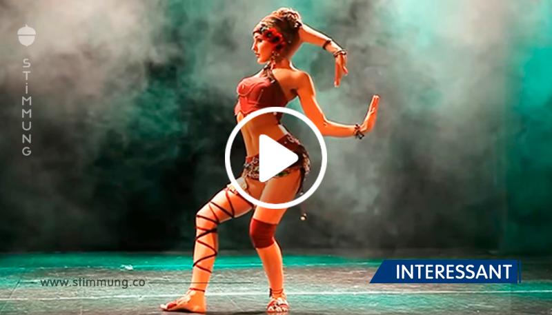 Dieser Tanz hat die Herzen von vielen Zuschauern erobert. Unglaubliche Kontrolle über den Körper.