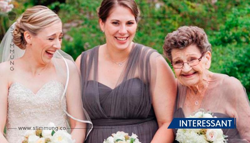 Enkelin bat ihre 89-jährige Großmutter, Brautjungfer bei ihrer Hochzeit zu werden!