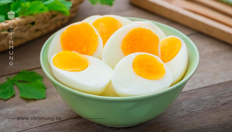 Eier-Diät: So verlierst du mit gekochten Eiern 5 Kilo in einer Woche