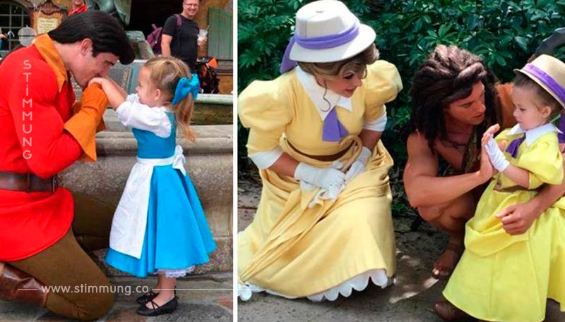 Die Mutter näht für ihre 3 jährige Tochter unglaublich genaue Kostüme von Disney Figuren!
