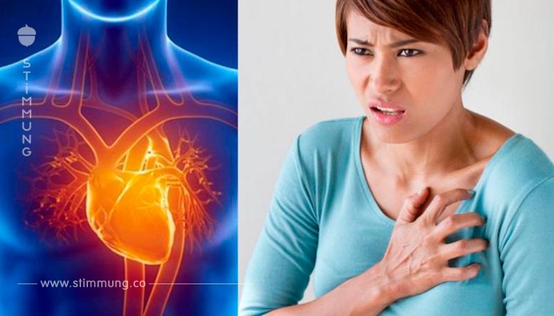 Einen Monat vor einem Herzinfarkt fängt der Körper bereits an dich zu warnen. Hier folgen 6 Anzeichen, speziell für Frauen