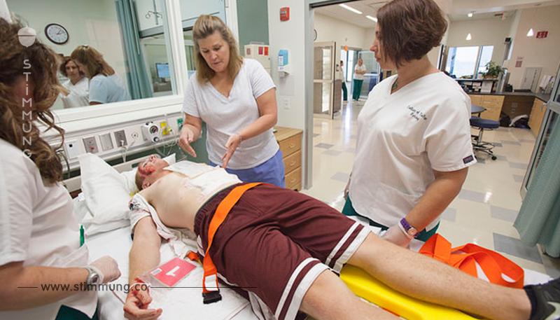 Krankenschwester kämpft für mehr Respekt.