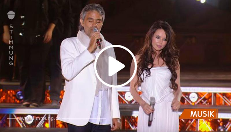 Ein legendäres Lied von Andrea Bocelli und Sarah Brightman