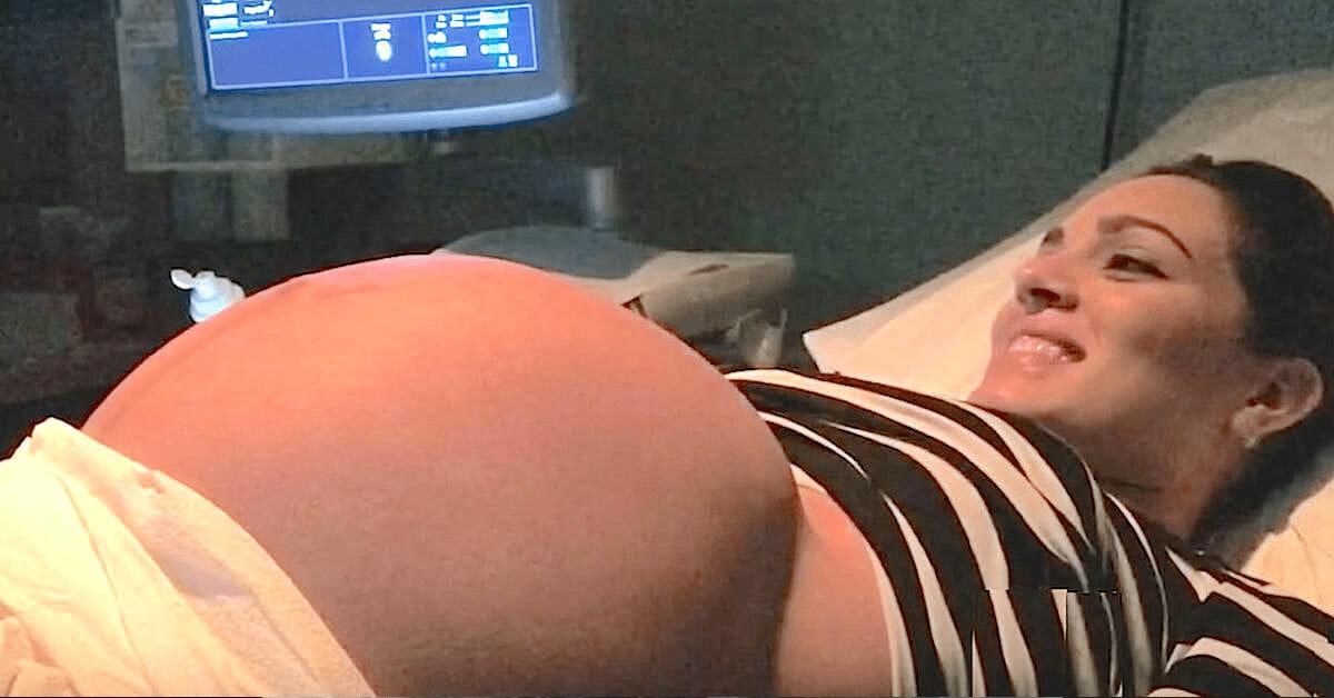 Das Mädchen war in der 27. Schwangerschaftswoche. Als der Arzt Ultraschall machte, erkannte er, dass etwas nicht stimmte!