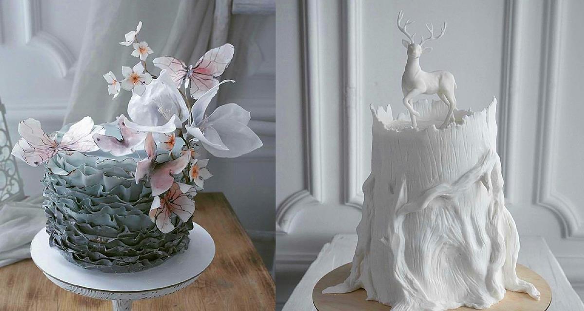 Kuchen zu backen ist eine echte Kunst! Meisterwerke!