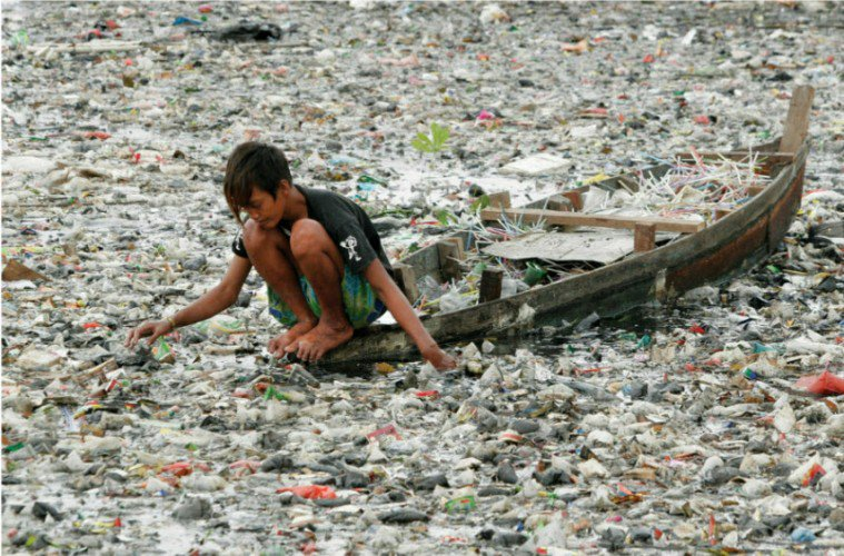 Riesige Müllinsel des Pazifischen Ozeans!