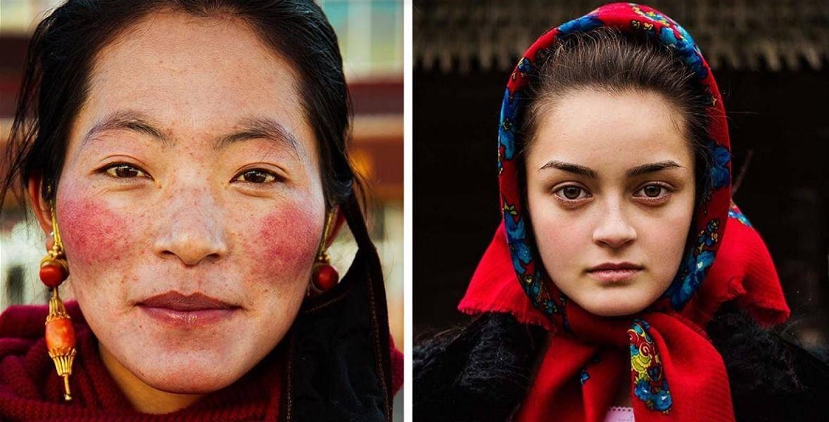 Der Fotograf zeigte die Schönheit von Frauen aus 37 Ländern!