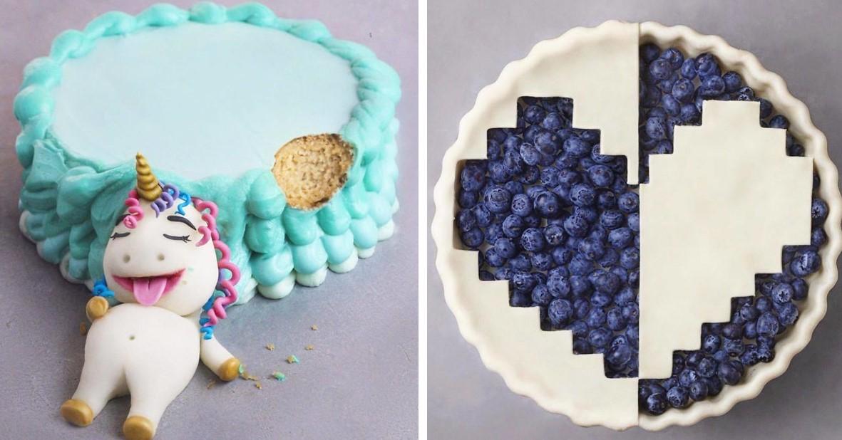 Der 16 jährige Vegan begeistert seine Instagram Fans weiterhin mit seinen fantastischen Desserts!