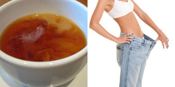 Diät eines Tages: Mischen Sie Tee mit Milch und verlieren Sie bis zu einem Kilogramm für einen Tag!