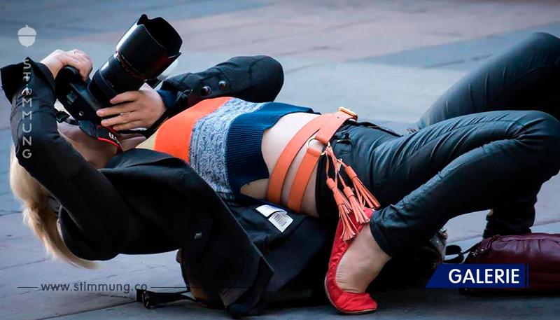 Verrückte Fotografen, die alles für ein perfektes Foto tun können!