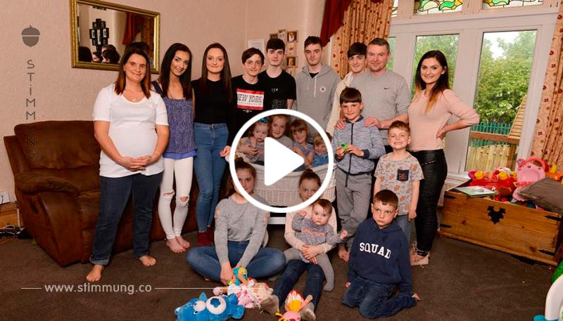 Die mutter, die 20 Kinder geboren hatte, hatte früher versprochen, dass ihr 11. Kind das letzte sein wird