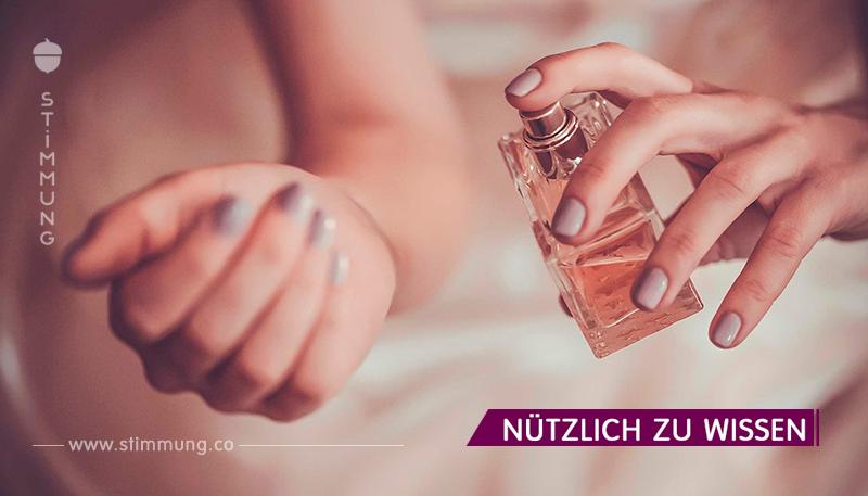 Möglichkeiten, Parfüm für eine lange Zeit zu speichern!