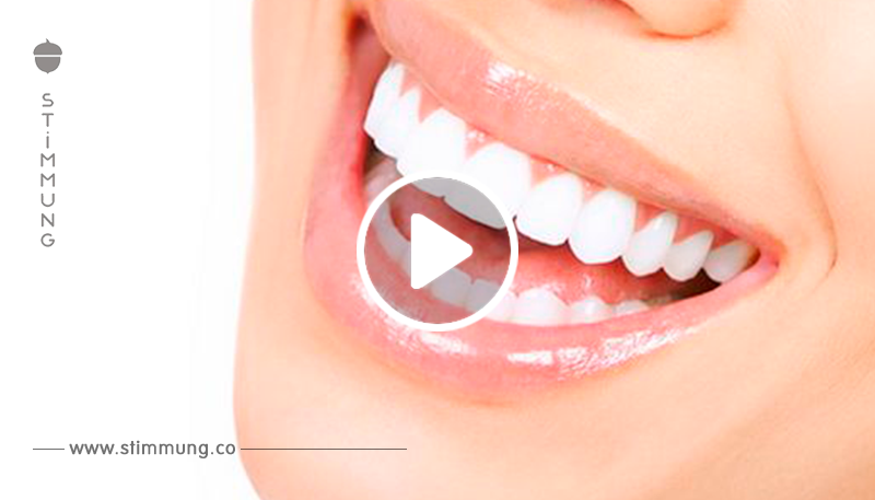 Weiße Zähne: In NUR 3 Minuten mit echtem