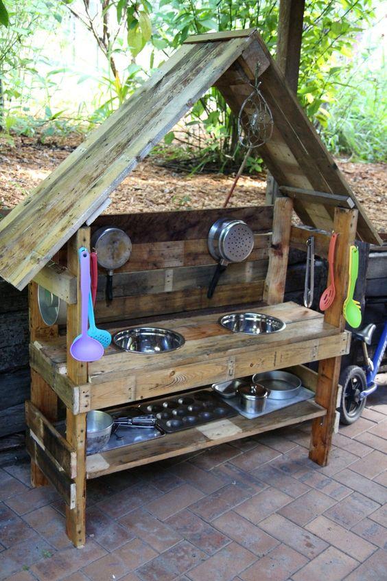 Wasserspiele Kinder Im Garten Wohn Design