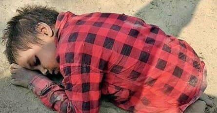 6 Jähriger verhauen und schmutzig im Sand gelassen: Die Wahrheit sorgt für Tränen
