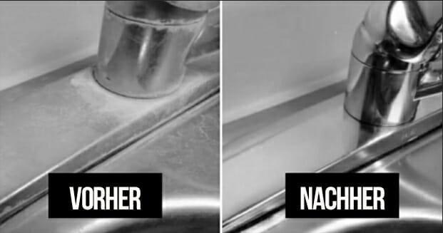 Wusste nie, welche Wunder Hausmittel für säubern von Spülen bewirken – jetzt bin ich überzeugt
