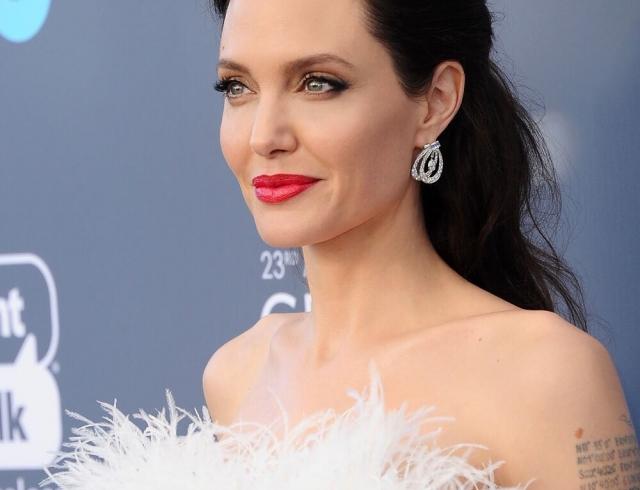Angelina Jolie hat alle auf ihre Art begeistert! Schönheit!