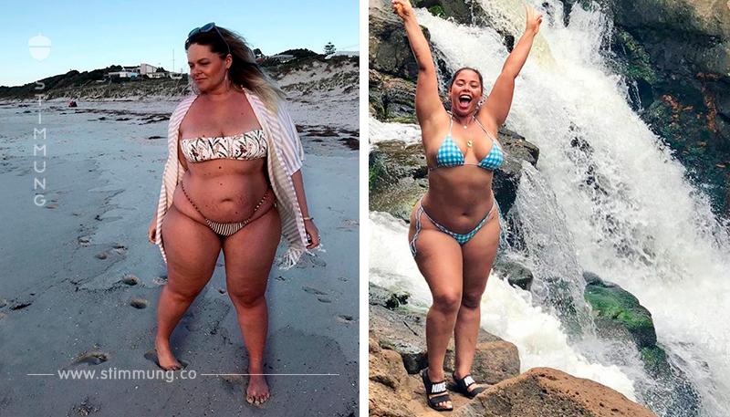 Diese großartigen Damen sind trotz des Übergewichts schön!
