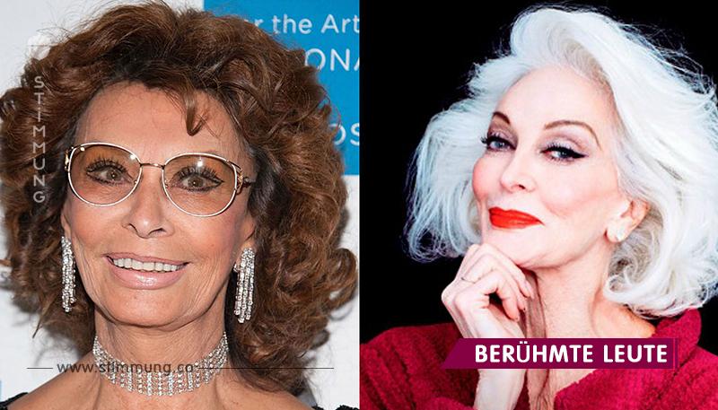 Ab 70 und älter: die schicksten Damen, für die das Alter keine Bedeutung hat!