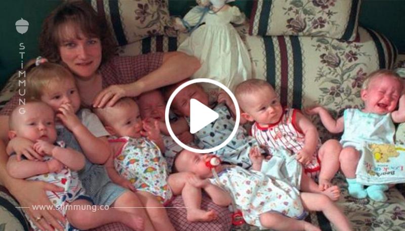Sie brachte als Erste weltweit lebende Siebenlinge zur Welt. 18 Jahre später sehen sie so aus. WOW!