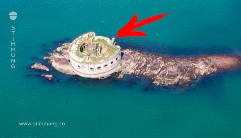 Mini Insel samt Fort um knapp 450.000 Euro