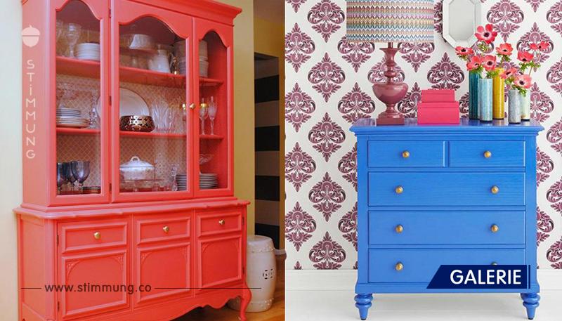 Wie man alte Möbel exklusiv macht. Ausgezeichnete Möglichkeiten!