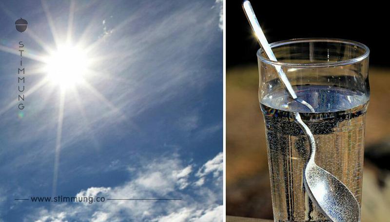Austrocknungsgefahr in extremer Hitze – so geht der eigene Flüssigkeitsersatz mit nur 3 Zutaten