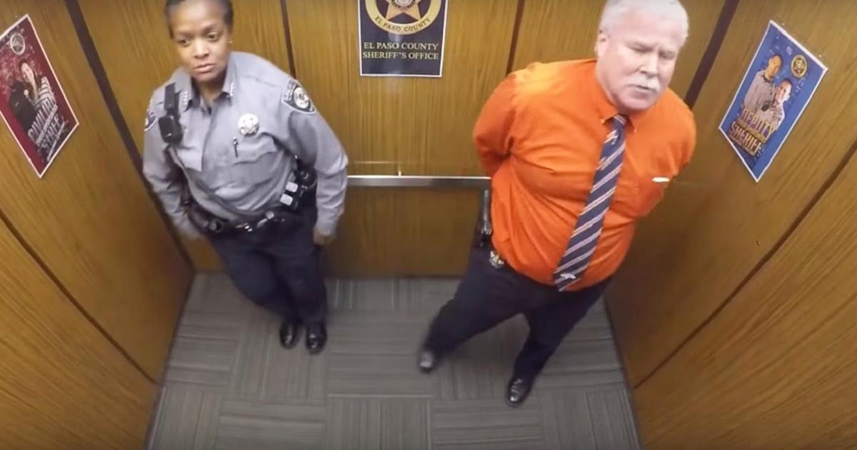 Sie betraten den Aufzug, aber dieses mit versteckter Kamera gefilmte Video hat das ganze Internet in die Luft gejagt!