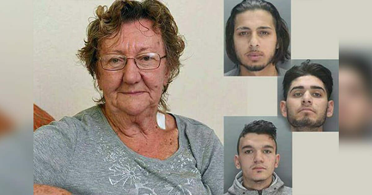77 jährige Großmutter steht am Geldautomaten, als plötzlich 3 Männer neben ihr stehen: Sekunden später wird ihnen bewusst, dass sie die falsche Rentnerin ausrauben wollten