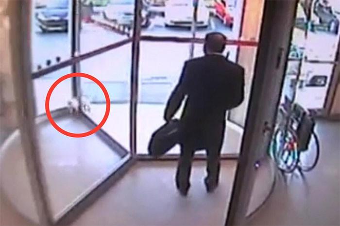 Der Reanimatologe rettete das Leben einer Katze, die in der Tür steckte. Mann mit einem Großbuchstaben!