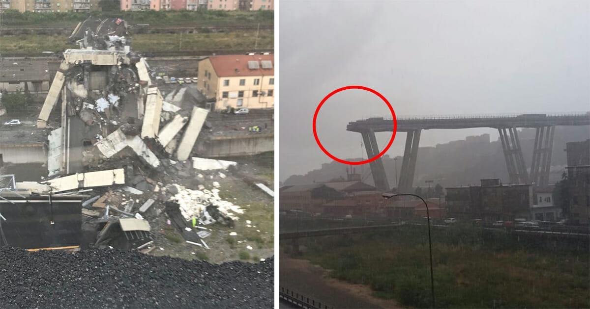Katastrophe in Italien: Autobahnbrücke in Genua eingestürzt – bereits viele Tote