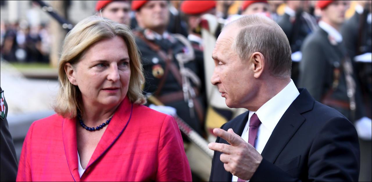 Was Putins Besuch bei Kneissl-Hochzeit kostet