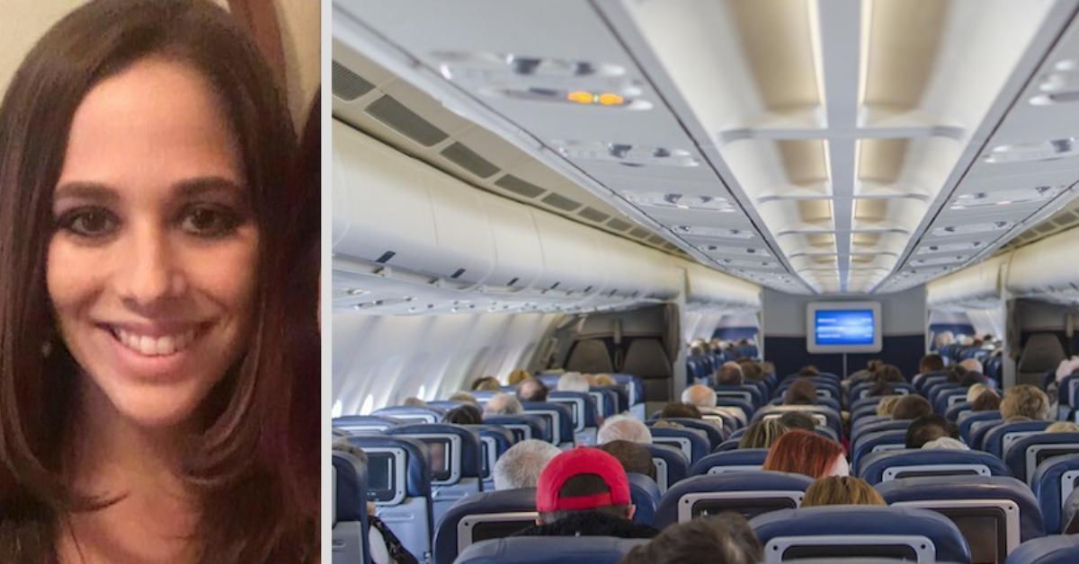 Fluggast gibt Lehrerin 400€, nachdem er Gespräch mitgehört hat.