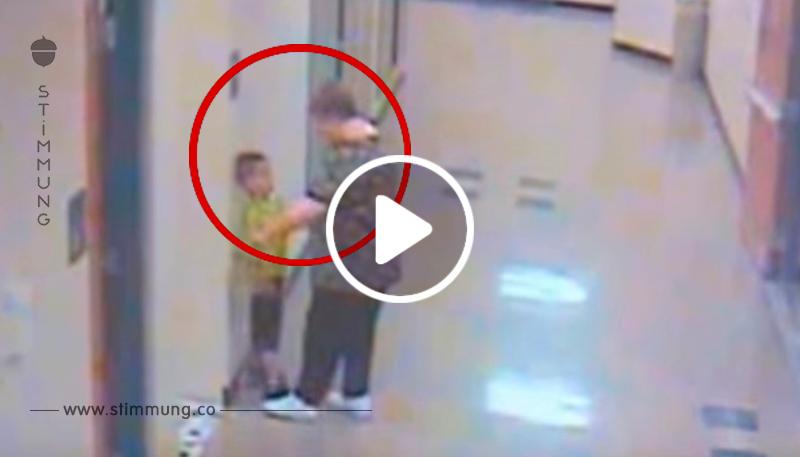 6 Jähriger geht zur Toilette – als die Kamera die unvorstellbare Aktion der Lehrerin filmt
