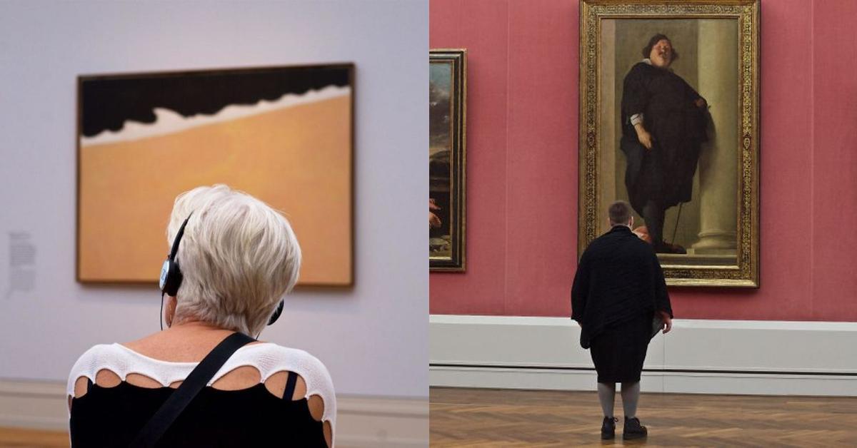 20 Museums Gänger, die den Kunstwerken die Show stehlen.