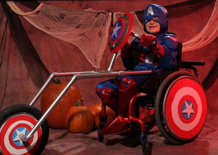 Diese unglaublichen Kostüme für Kinder im Rollstuhl werden Sie nicht gleichgültig lassen!