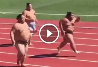Wenn du schlechte Laune hast, sieh dir einfach an, wie diese Sportler laufen. Es ist unmöglich, aufhören zu lachen!