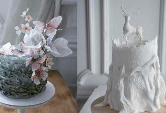 Einen Kuchen zu backen ist eine echte Kunst! Meisterwerke!