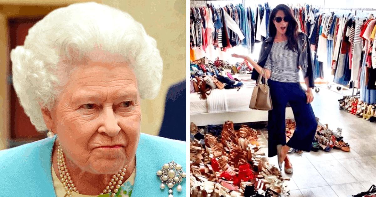Die Königin Elizabeth II ist in der Verlegenheit von der Extravaganz der neuen Schwiegertochter Megan Markle