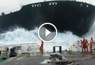Diese riesigen und schweren Schiffe konnten nicht zur richtigen Zeit anhalten. Schockierende Momente!