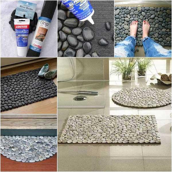 Die 10 schönsten und kreativsten Ideen, um Steine an Ihr Interieur hinzuzufügen!