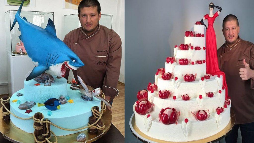 Diese Kuchen sind zu schön, um gegessen zu werden! Sie sind einfach perfekt, Meisterwerke der Süßwarenkunst!