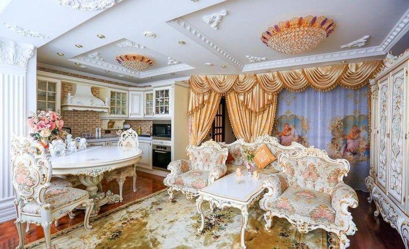 Sie hat aus einer Einzimmerwohnung einen richtigen Palast gemacht! Es kann nicht verboten werden, ein schönes Leben zu führen!