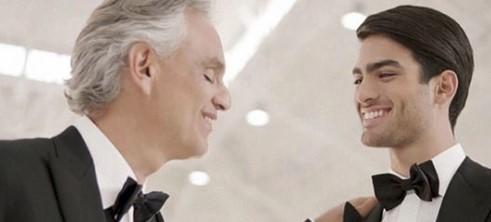 Andrea Bocelli singt zusammen mit seinem Sohn zum ersten Mal, und das ist pures Gold