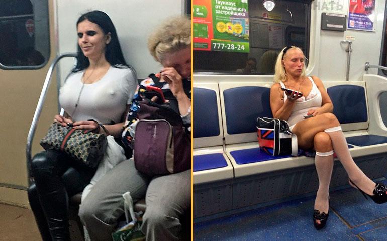 15 Fotos, die beweisen, dass man sich nur in Russland so kleiden können!