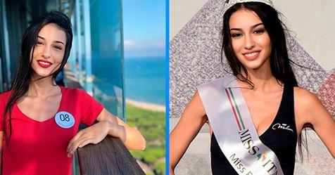 Dieses Mädchen erreichte das Finale des Wettbewerbs ,,Miss Italy,,, und sie wurde aufgrund ihrer Behinderung gedemütigt ...