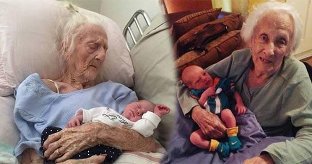 Wie kann sowas passieren, wie kann es möglich sein: 101-jährige italienische Frau hat ein gesundes Baby geboren.